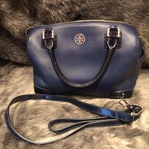 Tory Burch Saffiano Leather Robinson Bag